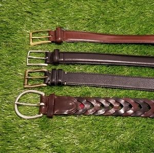 Cole Haan Belts Lot of 4